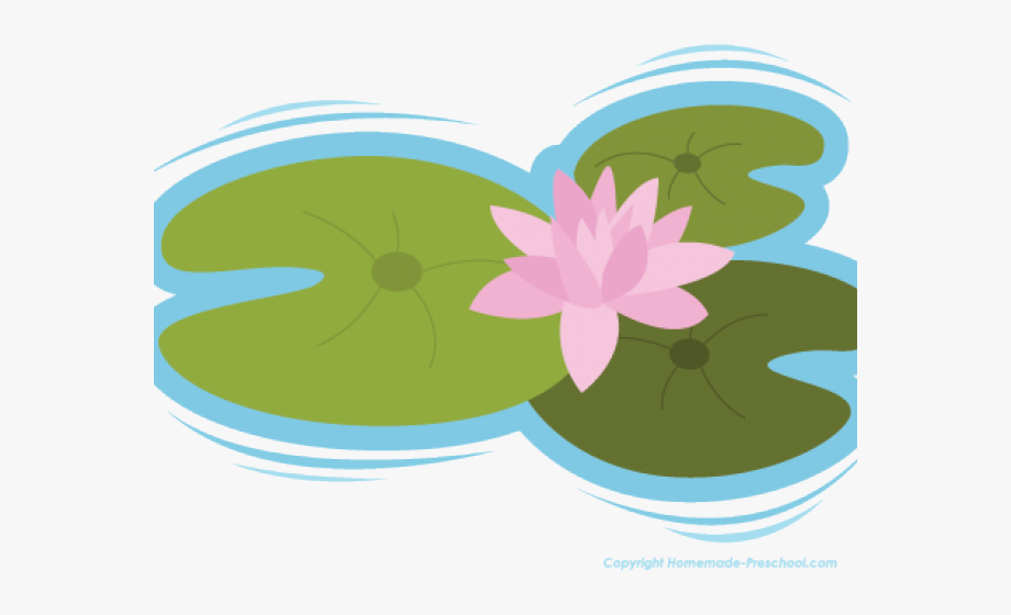 Lily pads clipart banner library stock Lily Pad Clipart Pond Plant - Clip Art #295233 - Free ... banner library stock