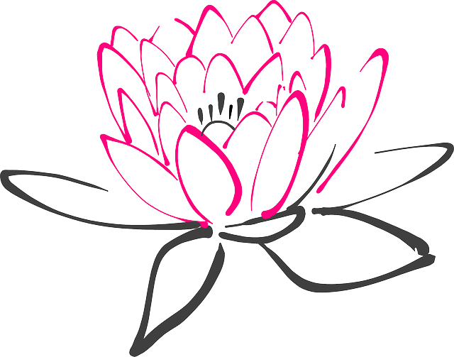 Lily pad flower clipart black and white png library Water Lily Clipart at GetDrawings.com | Free for personal use Water ... png library