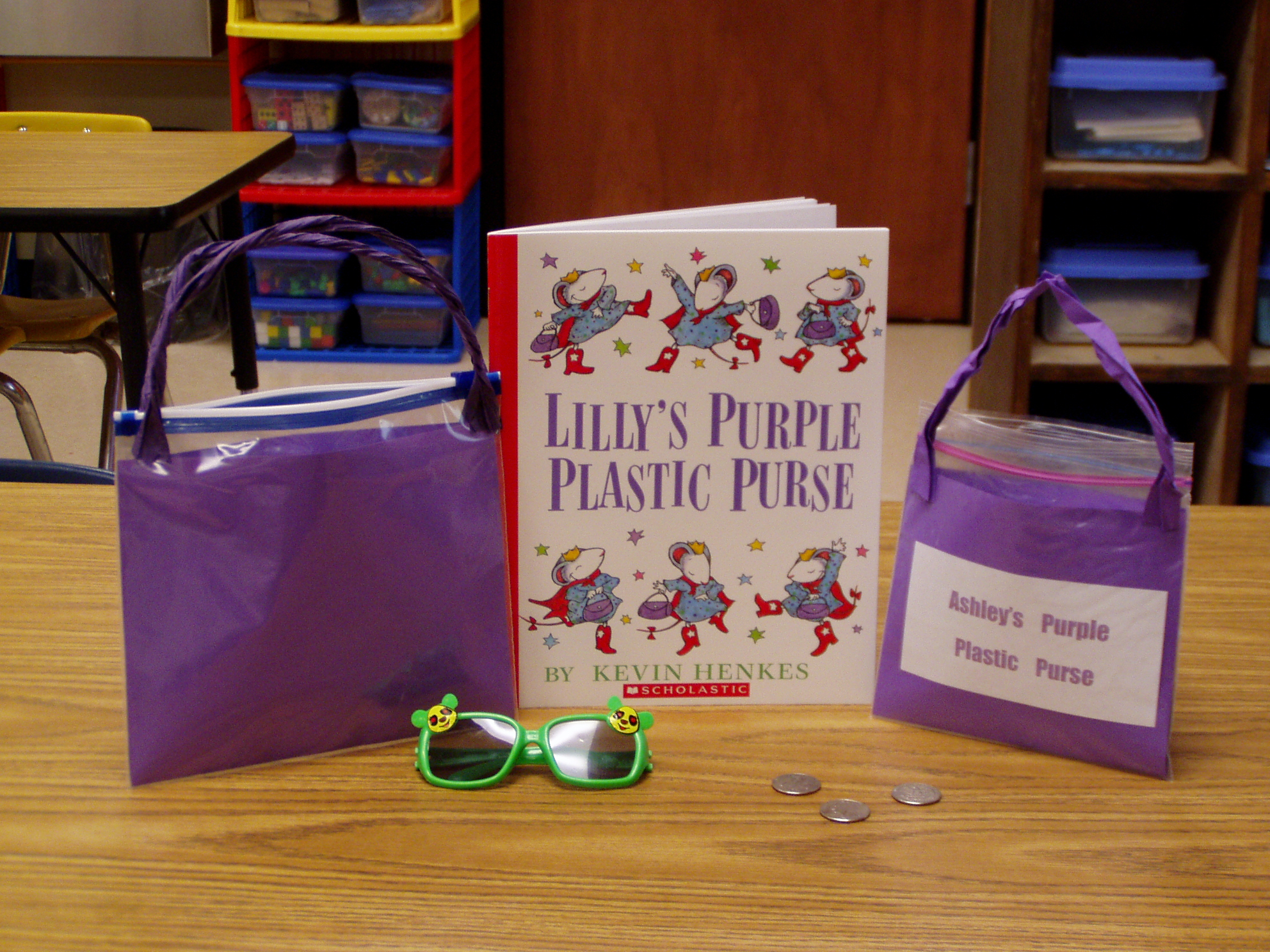Lilys purple plastic purse clipart from the story jpg transparent stock Kevin Henkes Author Study - lessons, ideas, printables ... jpg transparent stock