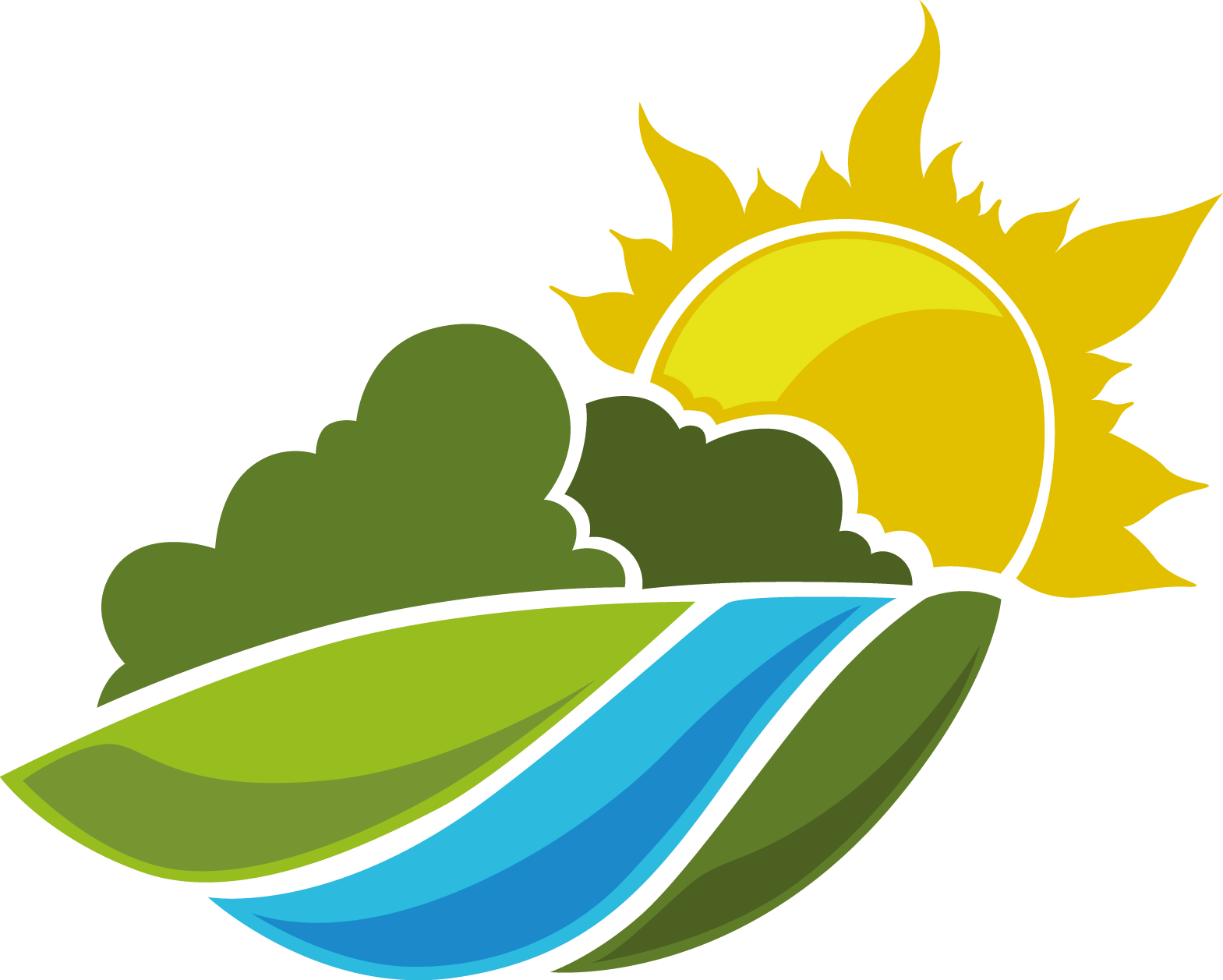 Lime green sun clipart jpg stock Landscape Logo Landscaping Clip art - Cartoon Sierra Sun 1569*1257 ... jpg stock