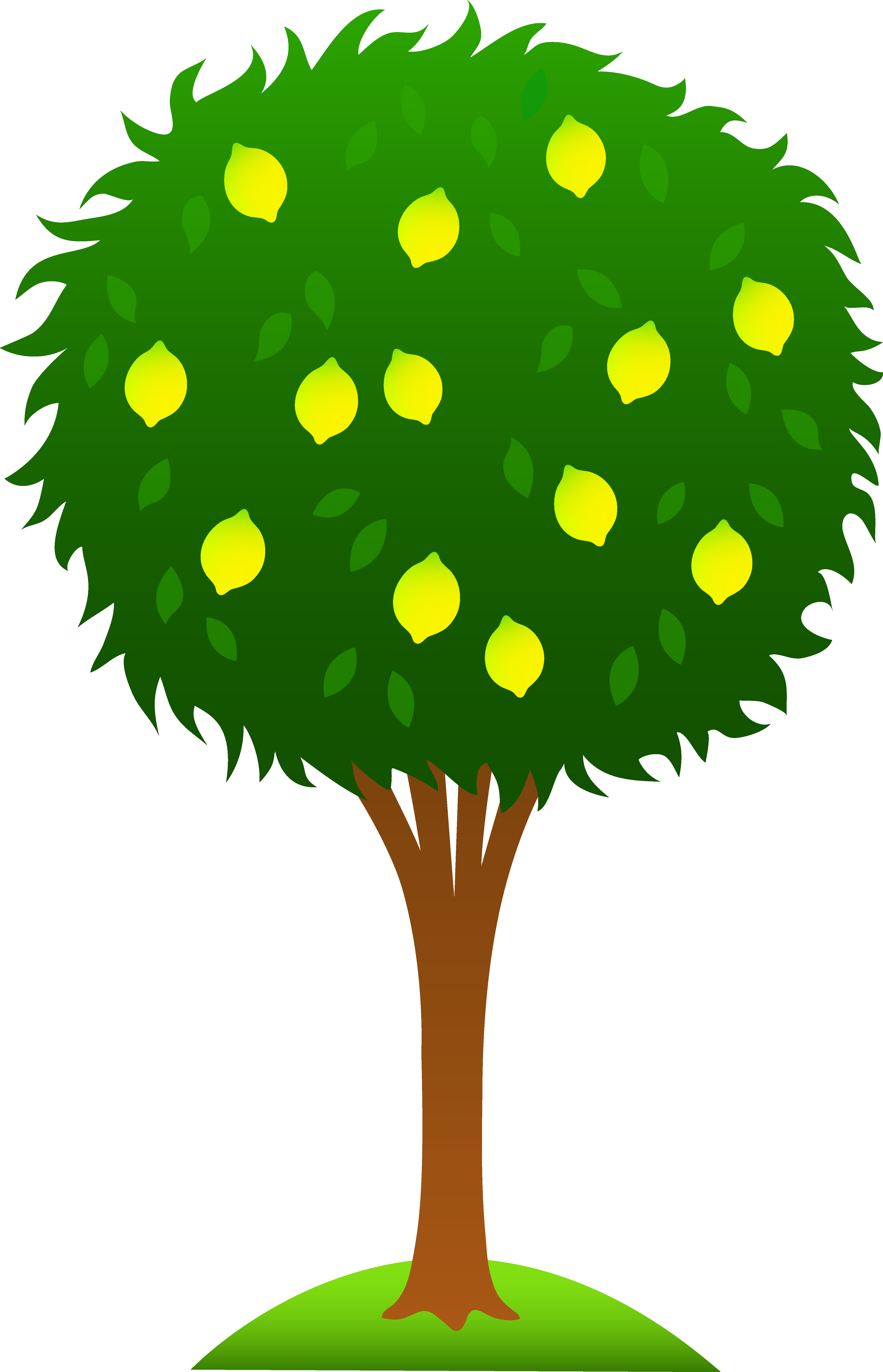 Tree stick clipart clipart transparent download cartoon lemon tree clipart | Lemon | Pinterest | Clip art and Art images clipart transparent download
