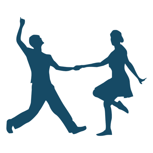 Lindy hop clipart svg library download Lindy Hop Silhouette Dance - couple boat png download - 512 ... svg library download