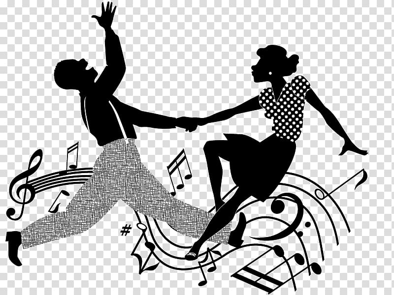 Lindy hop clipart jpg black and white download Swing Dance Lindy Hop , others transparent background PNG ... jpg black and white download