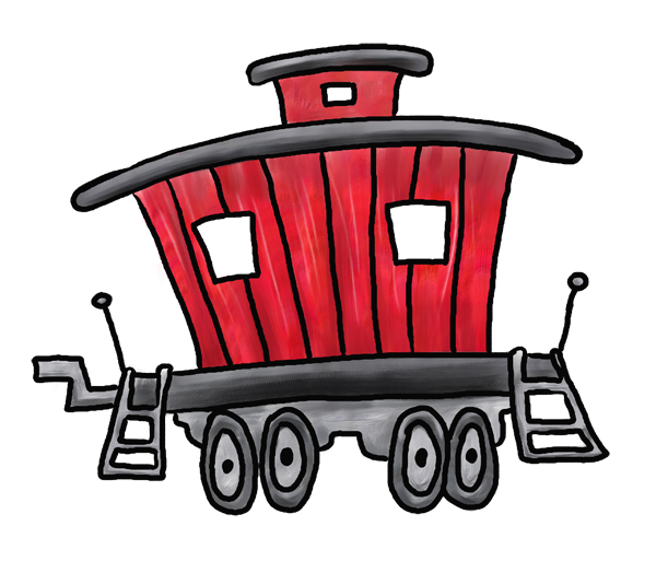 Line caboose child clipart black and white royalty free library Free Caboose Clipart, Download Free Clip Art, Free Clip Art ... royalty free library