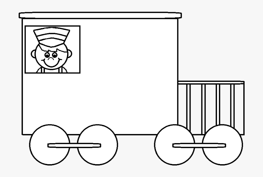 Line caboose child clipart black and white clip art Caboose Car Black And White Train Clipart Clipartfest ... clip art