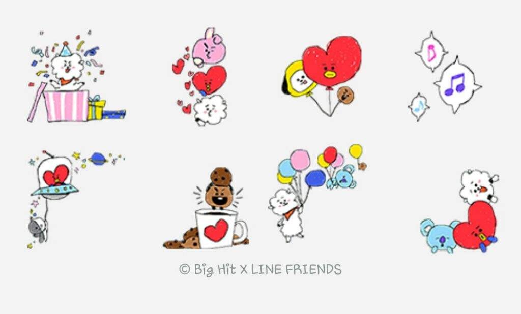 Line camera stamp clipart picture library library ❃•BT21 Stamps on LINE Camera•❃°• | ARMY\'s Amino picture library library