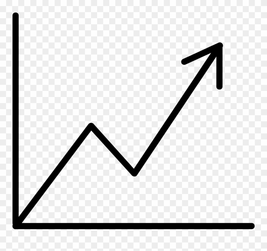 Line graph cliparts banner library library Long-term Data - Line Graph Increasing Clipart (#3664839 ... banner library library