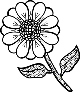 Line drawing flowers clipart jpg black and white 6379 flower line drawing clip art free | Public domain vectors jpg black and white