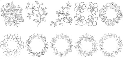 Line drawings of flowers free download clipart freeuse Line drawings of flowers free download - ClipartFest clipart freeuse