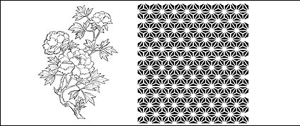 Line drawings of flowers free download svg black and white Line drawing peony flowers free vector download (103,633 Free ... svg black and white