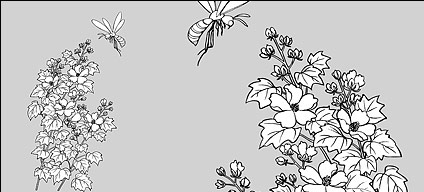 Line drawings of flowers free download picture freeuse download Line drawing peony flowers free vector download (103,633 Free ... picture freeuse download