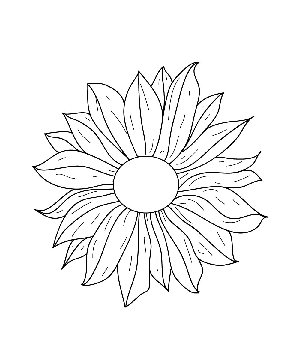 Line drawings of flowers free download clipart black and white library Line drawings of flowers free download - ClipartFest clipart black and white library