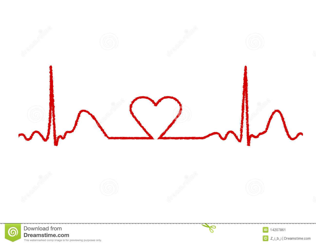 Line of hearts clip art jpg free stock Heart line clipart - ClipartFest jpg free stock