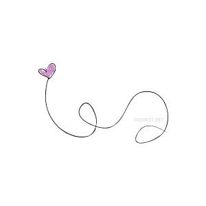 Line of hearts clip art clip art transparent stock Heart line clipart - ClipartFest clip art transparent stock