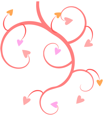 Line of hearts clip art svg transparent Heart Page Border | Free Download Clip Art | Free Clip Art | on ... svg transparent