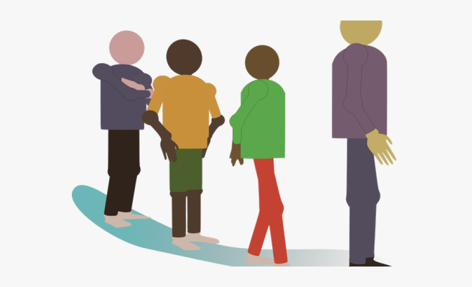 Line of people clipart clip free People Standing In Line Clipart - Wait In Line Clip Art ... clip free