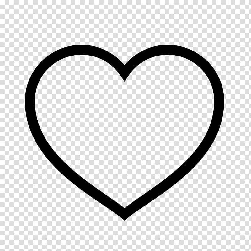 Line symbol clipart clip black and white stock Heart Symbol Computer Icons , point line symbol transparent ... clip black and white stock