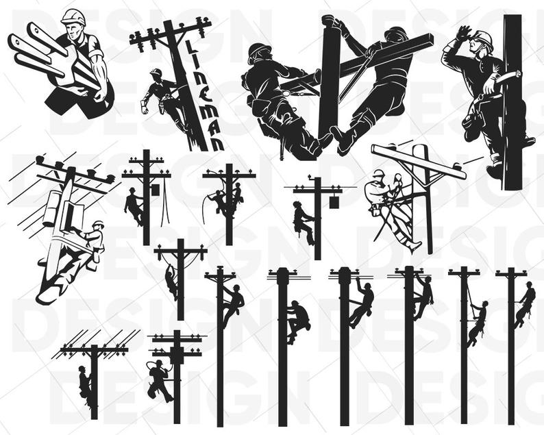 Lineman clipart electrical image free library Download for free 10 PNG Electrical clipart lineman Images ... image free library