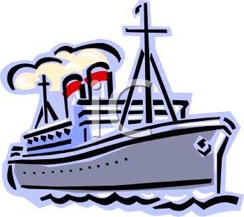 Liner clipart vector stock Vintage Ocean Liner Clip art | Clipart Panda - Free Clipart ... vector stock