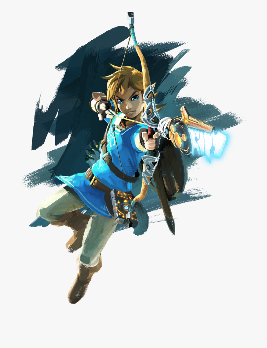 Link breath of the wild clipart png library library The Legend Of Zelda Breath Of The Wild Link Png - Legend Of ... png library library