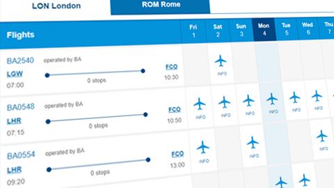 Link clipart flight schedule banner library stock Flight information | Flight News & Status | British Airways banner library stock