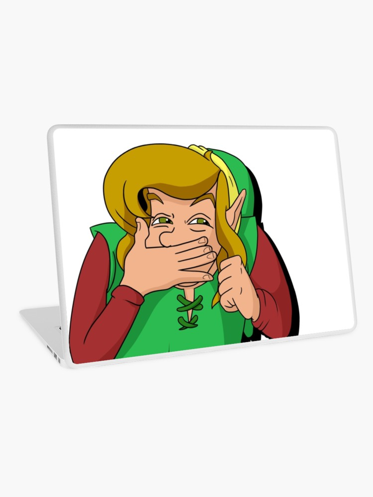 Link the faces of evil clipart image library stock Link Smirk - The Faces of Evil | Laptop Skin image library stock