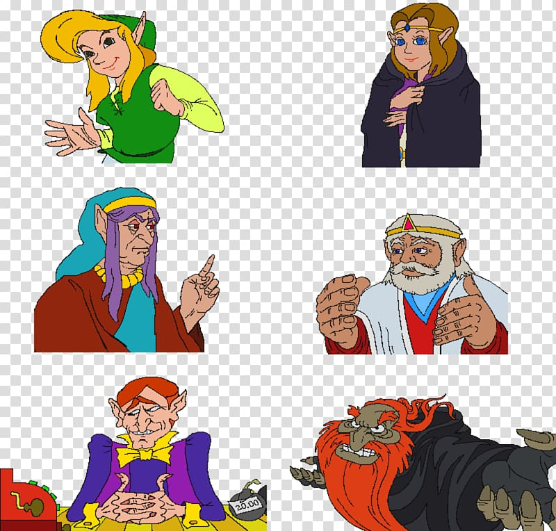 Link the faces of evil clipart transparent download Zelda: The Wand of Gamelon Link: The Faces of Evil Ganon ... transparent download
