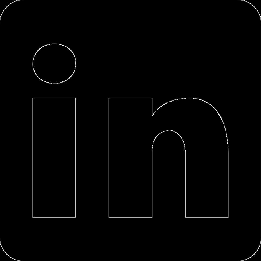 Linkedin white clipart jpg download Social Media Logo clipart - Linkedin, Black, Text ... jpg download