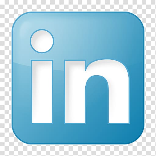 Linkedin white clipart transparent Blue and white in logo, Social media LinkedIn Computer Icons ... transparent