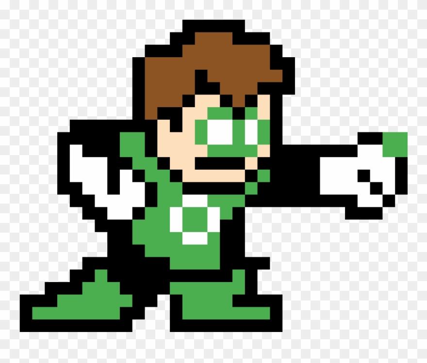 Linterna verde clipart clip black and white download Green Lantern - Linterna Verde En Minecraft Clipart ... clip black and white download