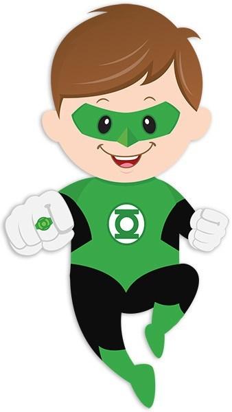 Linterna verde clipart clip art black and white Kids wall sticker Green Lantern | MuralDecal.com clip art black and white