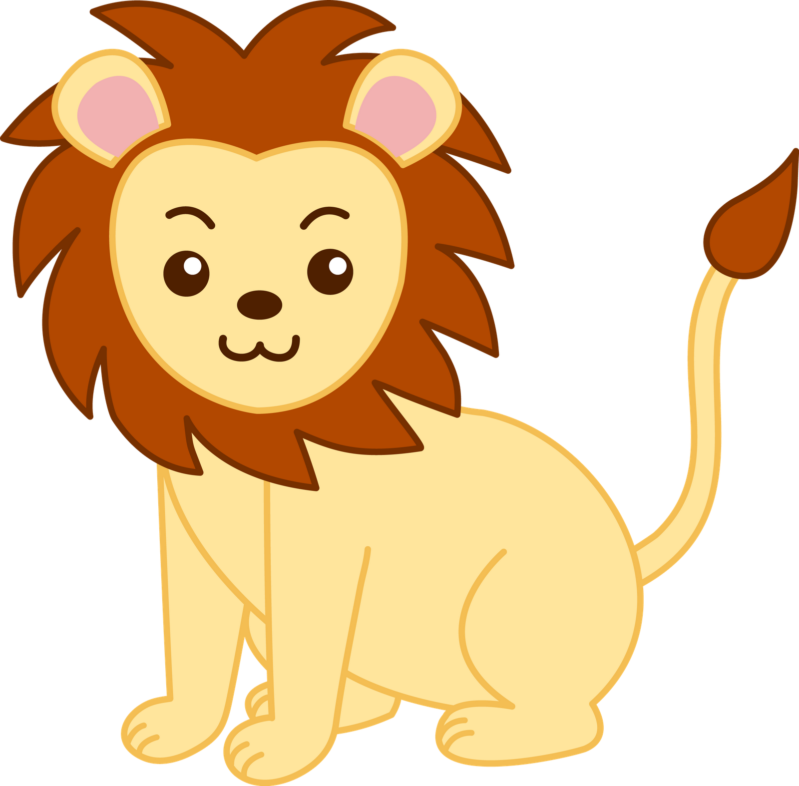 Lion and crown clipart picture freeuse stock Best Baby Lion Clipart #10503 - Clipartion.com picture freeuse stock