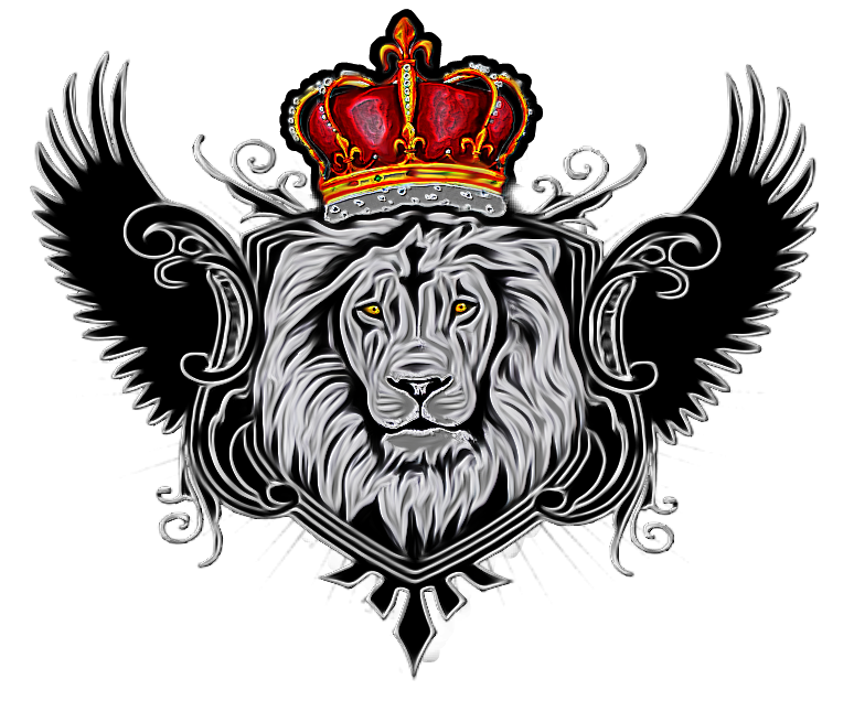 Lion and crown clipart clipart library lion wings couronne crown - Sticker by DubRootsGirl clipart library