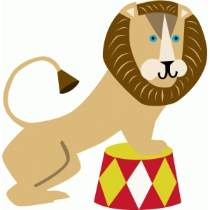 Lion circus clipart clip art free download Circus lion clipart 4 » Clipart Station clip art free download