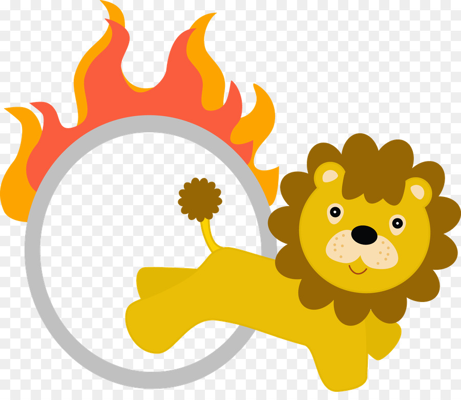 Lion circus clipart image freeuse stock Sunflower Drawing clipart - Lion, Circus, Clown, transparent ... image freeuse stock
