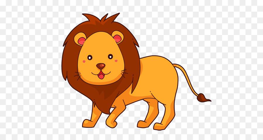 Lion clipart png stock Lion Cartoon png download - 589*468 - Free Transparent Lion ... stock