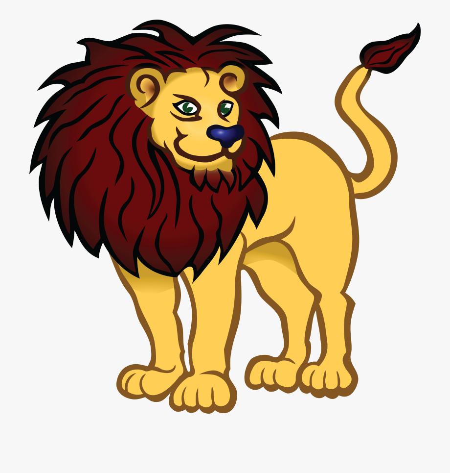 Lion clipart png clip art library Lion Clipart Easy - Lion Clipart Black And White Png ... clip art library