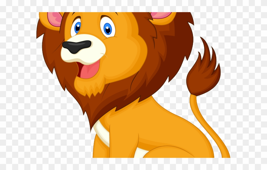 Lion clipart png jpg free library Cartoon Baby Tigers - Lion Cartoon Vector Png Clipart ... jpg free library