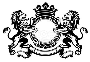 Lion crest clipart banner transparent stock Heraldic Lion Crest 8 stock vectors - Clipart.me banner transparent stock