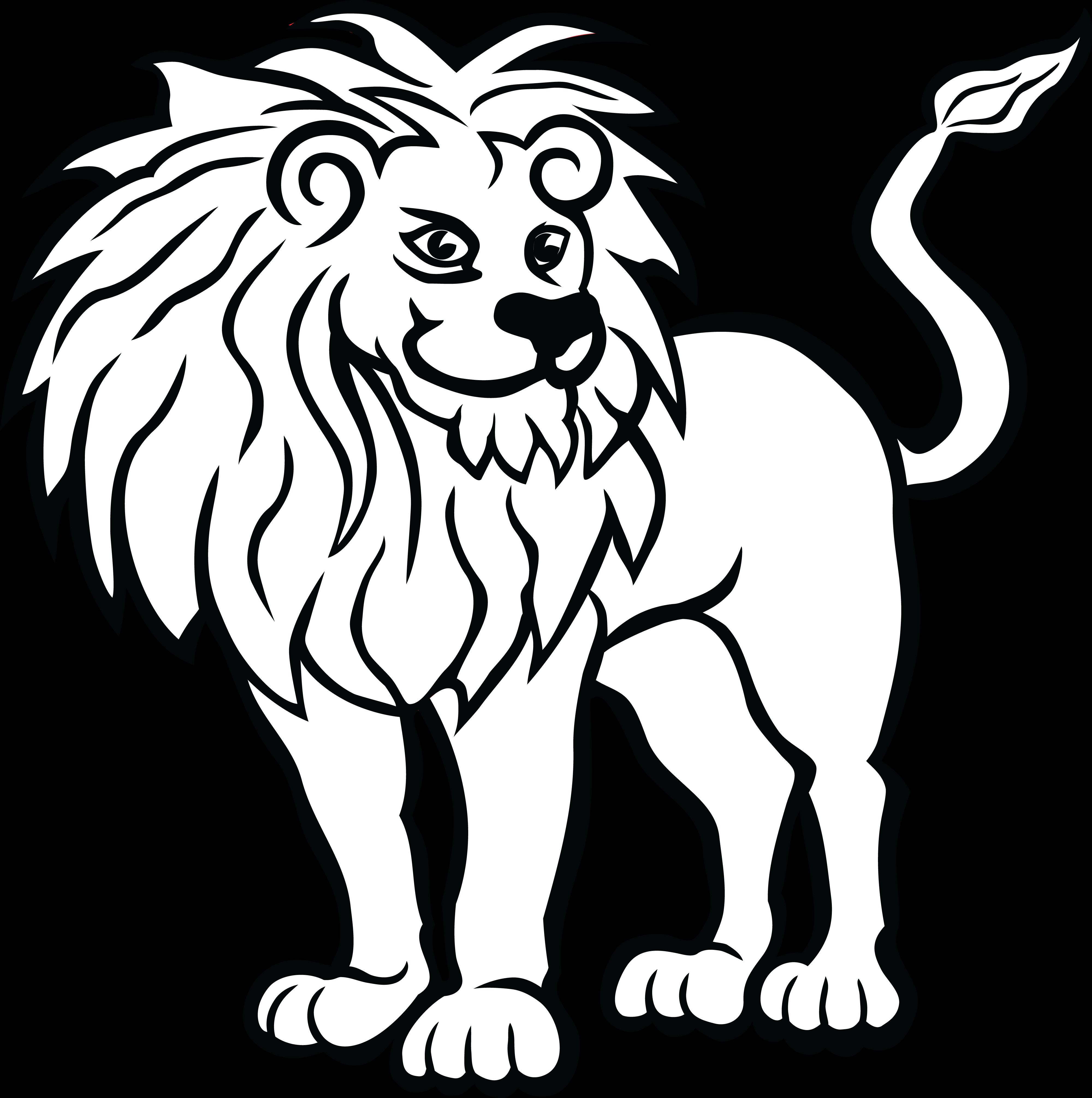 Lion drawing clipart transparent library Lion Drawing | Free download best Lion Drawing on ClipArtMag.com transparent library