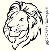 Lion face images clipart clipart Lion Face Clip Art - Royalty Free - GoGraph clipart