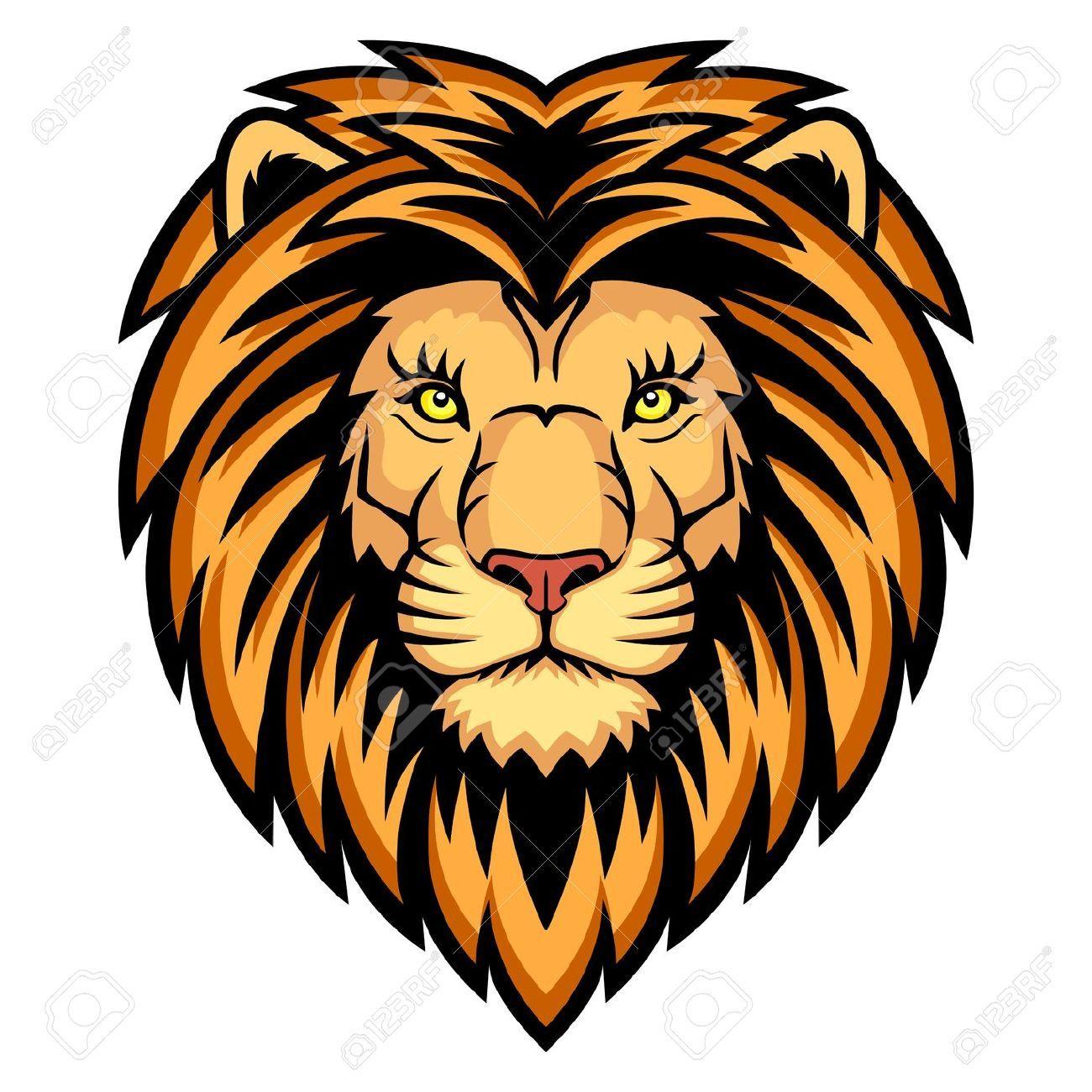 Lion face images clipart clipart transparent download Lion Head Clipart | backgrounds, clipart, images etc. | Lion ... clipart transparent download