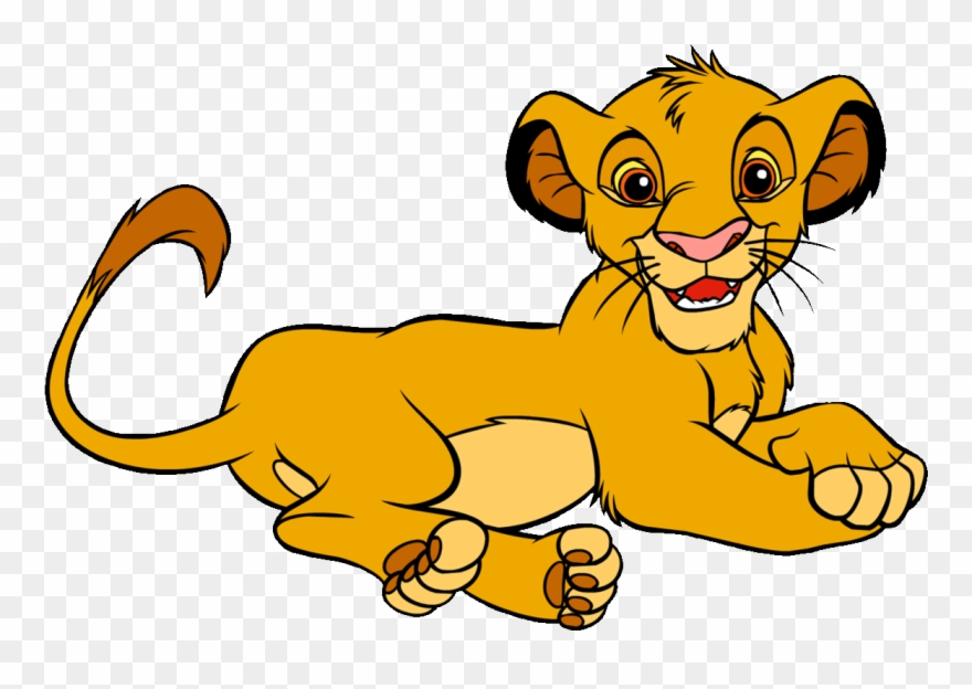Lion king simba clipart
