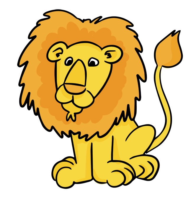 Lion reading a book clipart library Lion Family Clipart at GetDrawings.com | Free for personal use Lion ... library