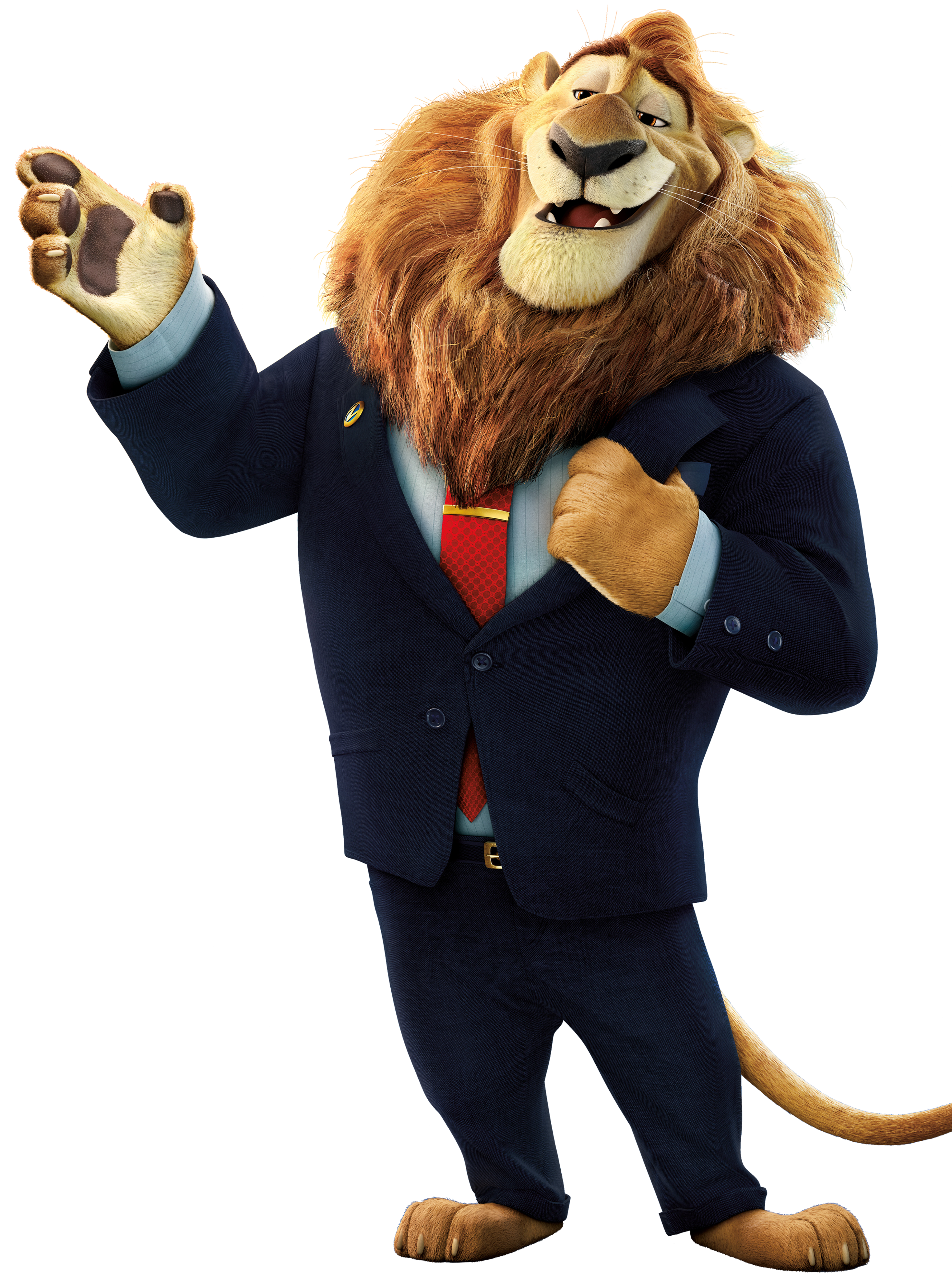 Lion heart clipart graphic transparent stock Mayor Lionheart from Disney's
