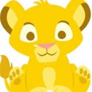 Lion king baby shower clipart