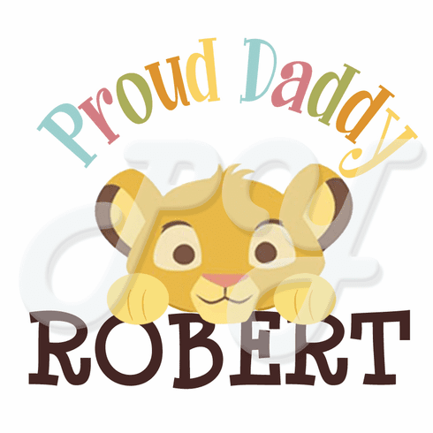 Lion king baby shower clipart clip library library Lion King Baby Shower Personalized t-shirt clip library library