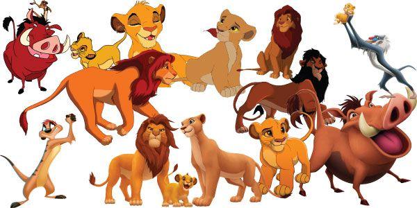Lion king jr clipart clipart stock The Lion King Clipart Set of 34 The Lion King Clipart ... clipart stock