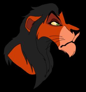 Lion king scar clipart