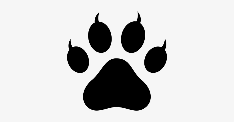 Lion paw clipart banner royalty free Lion Paw Prints Clip Art - Cat Paw Vector Png - Free ... banner royalty free